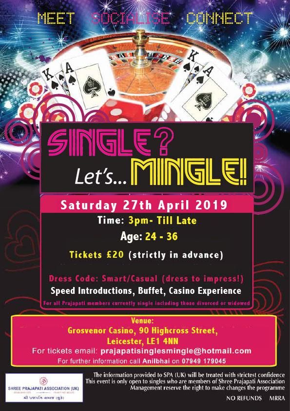 5d9a13b9a Single? Let's Mingle April 2019 – Shree Prajapati Association UK